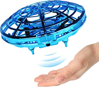 Ganowo Flying Toy Hand Controlled Flying Ball Indoor Outdoor Mini Drone Toys with LED Light for Kids Adults Teens