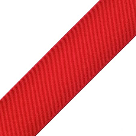 2 inch 50mm Colored Red and Green Striped Twill Elastic Waistband Elastic 22010