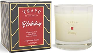 Trapp Seasonal Collection Holiday Poured Scented Candle, 7-Ounce