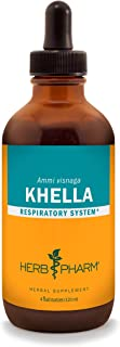 Herb Pharm Khella Liquid Extract for Respiratory System Support - 4 Ounce