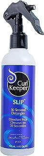 Curly Hair Solutions Curl Keeper SLIP - 30 Second Detangler, 8 Ounce / 240 Milliliter