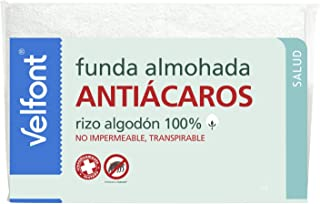 Funda Almohada Antiácaros Velfont 90