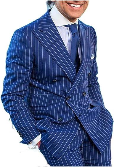 Outwear - Traje de verano para hombre, diseño de rayas, color ...