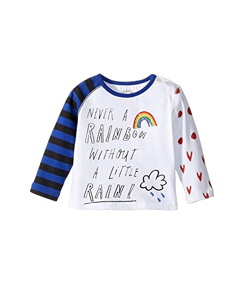 Burberry Kids Tomasa Long Sleeve Tee (Infant/Toddler)