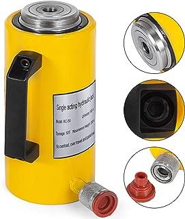 Mophorn 50T 6In Stroke Hydraulic Cylinder Jack Solid Single Acting Hydraulic Ram Cylinder 150mm Hydraulic Lifting Cylinders(50T 6Inch)