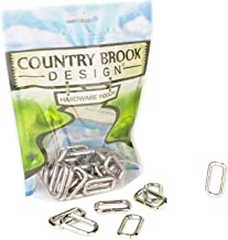 25 - Country Brook Design - 1 Inch Heavy Welded Rectangle Rings