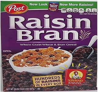Post Raisin Bran, 20.0-Ounce (Pack of 4)