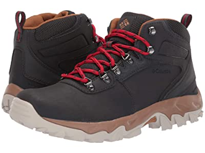 Columbia Newton Ridgetm Plus II Waterproof (Shark/Mountain Red) Men