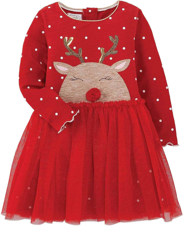 Mud Pie Baby Girls' Reindeer Dress Discount is also Ranking TOP15 underway Mesh