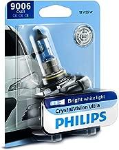 Philips 9006 CrystalVision Ultra Upgrade Bright White Headlight Bulb