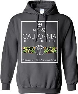 California Beach Palm Trees Sweatshirt Hoodie
