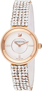 Swarovski Women's Quartz Watch, Analog Display and Stainless Steel Strap 5027319, Gold Band