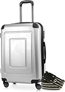 Happy Trolley Lugano Bagage cabine 66 centimeters 78 Argenté (Silber)