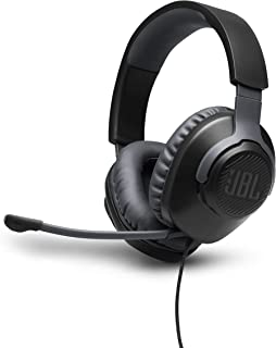 JBL Quantum 100 - Wired Over-Ear Gaming Headphones - Black