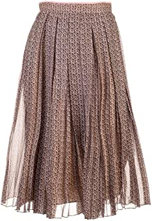 FENDI Luxury Fashion Womens FQ7133A5XGF19ES Brown Skirt |