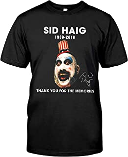 Akimiva Thank You for The Memories Captain Spaulding 80 Years T Shirt Sid Haig Shirt