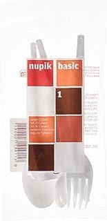 Nupik basic - Juego Cubertería Desechable