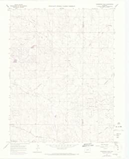 YellowMaps Ponderosa Park CO topo map, 1:24000 Scale, 7.5 X 7.5 Minute, Historical, 1966, Updated 1973, 27.3 x 22.1 in