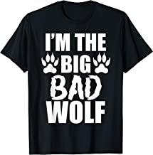 I'm The Big Bad Wolf Paw Prints Shirt Easy Halloween Costume