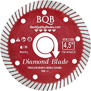 Turbo Diamond Saw Blade Continuous Rim Sintered (Thin 1.4 (4,5