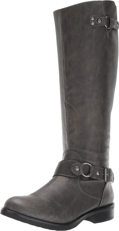 Madden girl Womens Fayettee Equestrian Boot