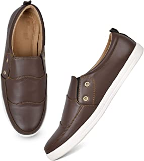 Longwalk Men Latest Shoes Collection, Comfortable Lightweight Causal Fox Lather Shoes