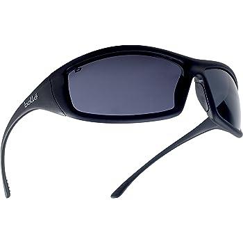 Bollé SOLIPSF - Gafas de seguridad de cristal ahumado (talla única), color negro
