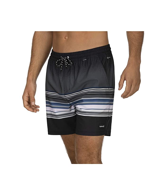 Hurley  17 Phantom Spectrum Volley Boardshorts (Anthracite) Mens Swimwear
