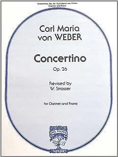 Concertino Clarinette-Livre +Partition
