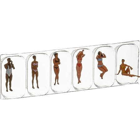 Preiser 28077 Standing Female Sunbather HO Scale for sale online