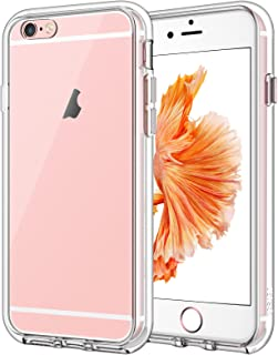 JETech Case for iPhone 6 Plus and iPhone 6s Plus 5.5-Inch, Shock-Absorption Bumper Cover, Anti-Scratch Clear Back, HD Clear
