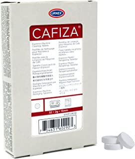 Urnex Cafiza Espresso Machine Cleaner Tablets, Blister Pack (32, 2g tablets)