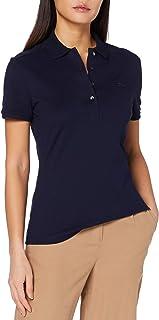 Lacoste Women's Pf5462 Polo Shirt Color: Blue Size: XL