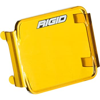 Rigid Industries 32183 Dually Side Cover Shooter Series in Amber Square