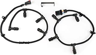 Ford Powerstroke 6.0 Glow Plug Harness Kit Compatible Replacement- Includes Right, Left Harness, and Removal Tool - Fits Ford F250 Super Duty, F350, and more - 2004, 2005, 2006, 2007, 2008, 2009, 2010