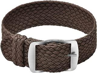 Nylon Watch Strap Perlon Braided Woven Watch Band NATO Men Women - 14, 16, 18, 20, 22 mm