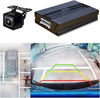 ATOTO AC-SC3601 Single-Camera-Based Surround View Rearview Parking System - Use Panoramic Image Stitching Tech - Bird's-Eye View of Surroundings