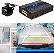ATOTO AC-SC3601 Single-Camera-Based Surround View Rearview Parking System - Use Panoramic Image Stitching Tech - Bird's-Eye View of Surroundings - Easy Installation