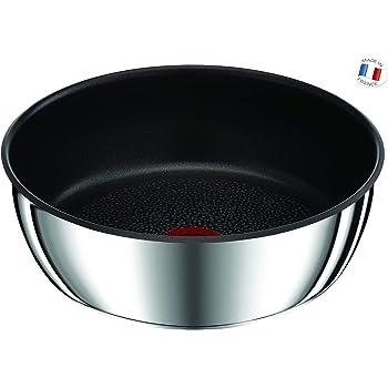 Tefal -  L9403602 - Ingenio Preference Sauteuse 26cm 4L Anti-Adhésif Inox Tous Feux Dont Induction