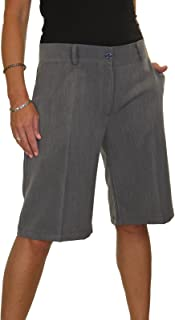 ICE (1492) Ladies intelligente lavabile Giorno Sera Tailored pantaloncini