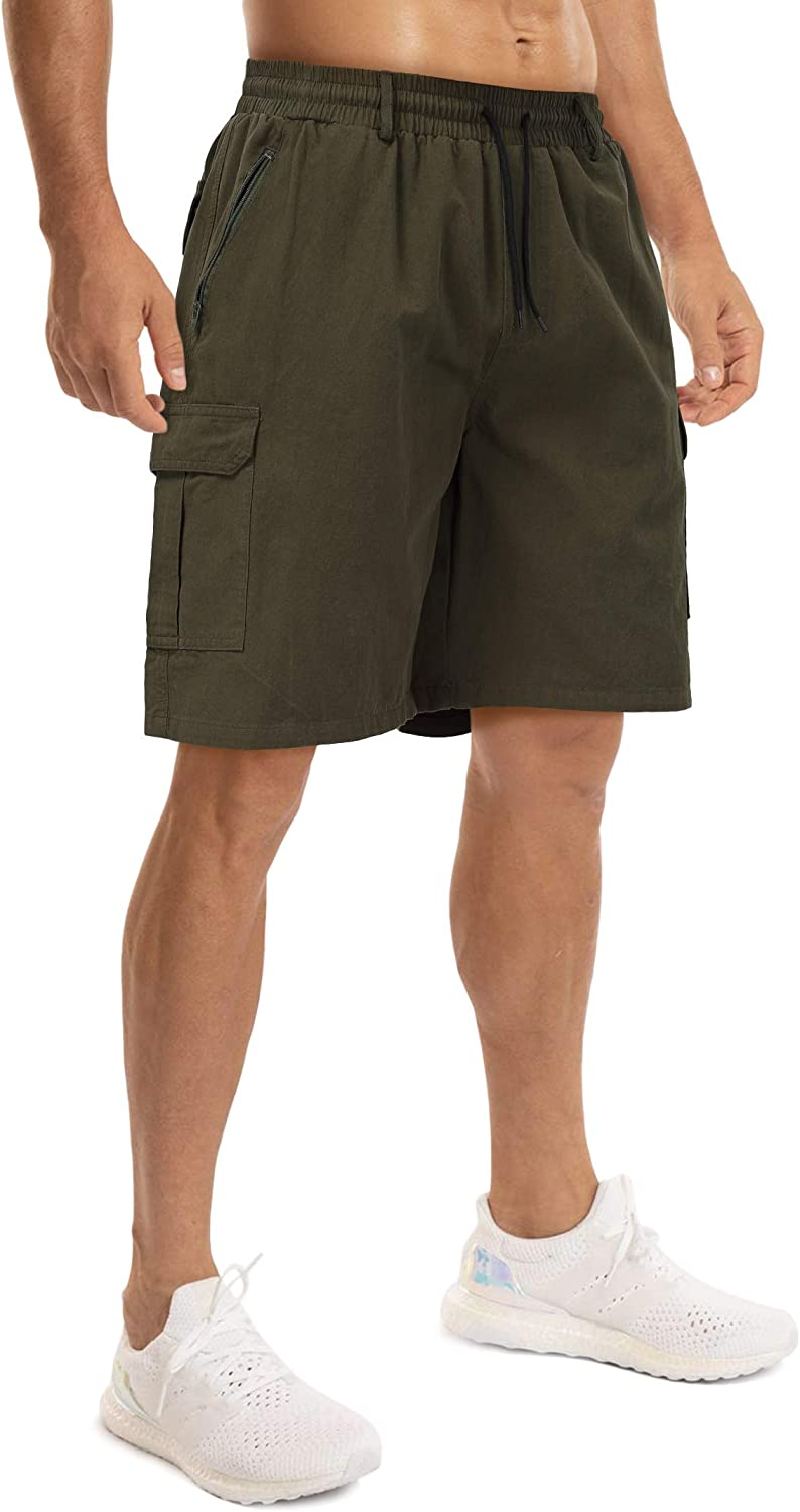 Yong Horse Complete Free Shipping Mens Casual Special price Drawstring Relaxed Cargo Shorts F Classic
