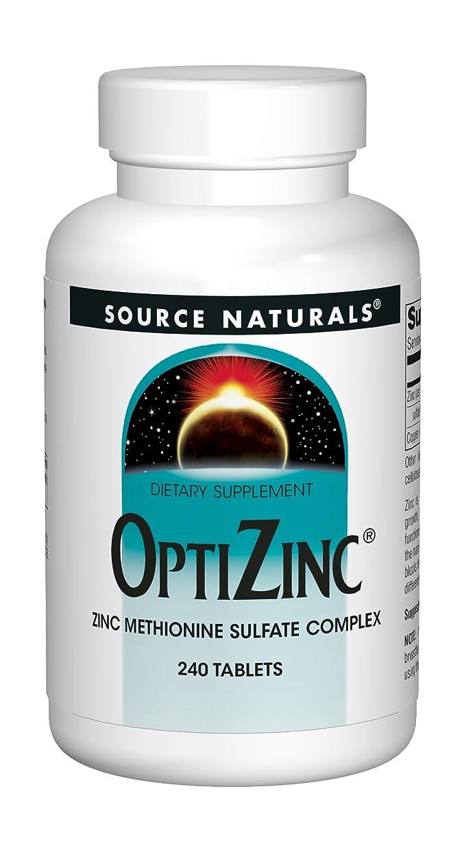胚芽原子入浴OptiZincオプチジンク(亜鉛)240タブレット[海外直送品]
