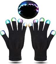 led rave gloves