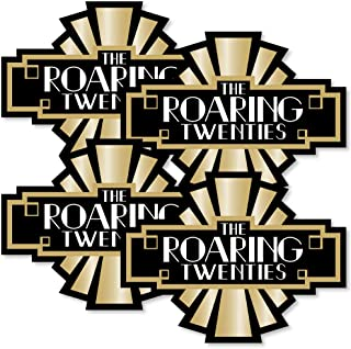Roaring 20's - Art Deco DIY 1920s Jazz Party Essentials - 2020 New Year's Eve Party - Set of 20