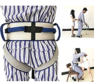 Standing Aids Gait Belt, Transfer Belt with Leg Loops for Elderly Physical Recover, Rehabilitation to Exercising and Walking Prevent