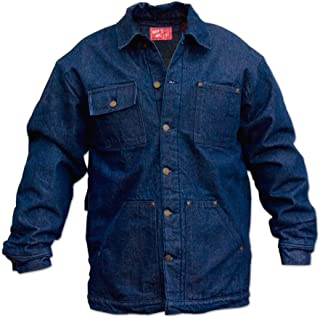 Wild Ass Lined Denim Chore Coat Rigid Blue LG