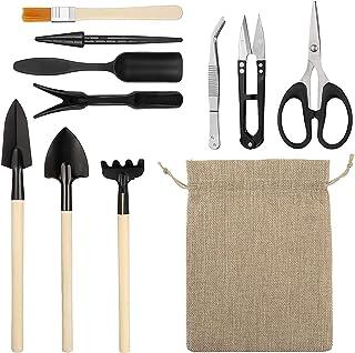 11 Pcs Gardening Tools Set, Gardening Transplanting Tools for Succulent Plant Transplanting Convenient Indoor and Outdoor ...