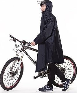 QIAN レインコート 自転車 バイク 通学兼用 レインウエア フリーサイズ 男女兼用 軽量防水
