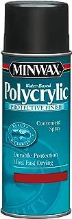 Minwax 34444000 Water-Based Polycrylic Spray, 11.5 ounce Aerosol, Semi-Gloss