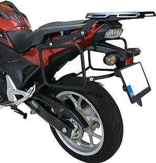 motogoril Honda NC 750X//NC750S//NC700X//NC700S//NC700D//NC750D Set Portapacchi Posteriore